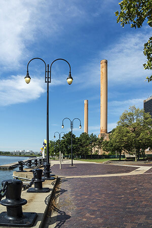 River Walkway in Toledo, OH